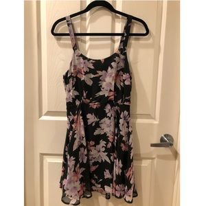 Lucca Couture floral dress from Revolve